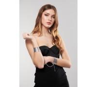 Браслеты - наручники DESIR METALLIQUE цвет: серебристый Bijoux Indiscrets (Испания)