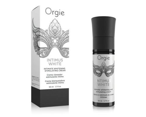 Возбуждающий гель с эффектом осветления кожи INTIMUS WHITE Orgie (Бразилия-Португалия)