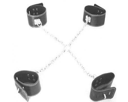 Фиксаторы для рук и ног на цепи