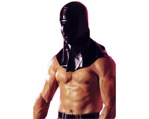 Сплошной шлем-маска из латекса