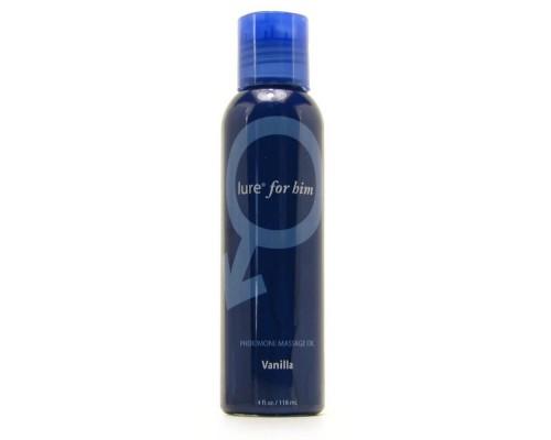 Массажное масло Lure® for Him Pheromone Massage Oil, Vanilla