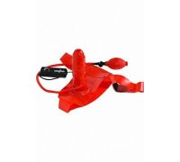 Страпон с вибратором Blimpy Inflatable Strap-On Penis
