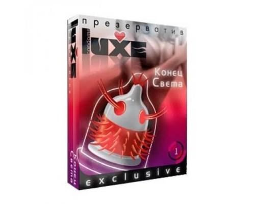 Презерватив Luxe Конец Света