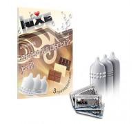 Ароматизированные презервативы Luxe Шоколадный рай (шоколад)