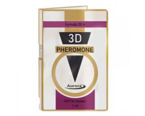 Духи с феромонами женские 3D PHEROMONE formula 25+, 1 мл