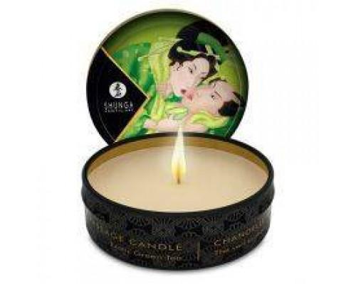 Массажная свеча Shunga MASSAGE CANDLE Exotic Green Tea, 30 мл