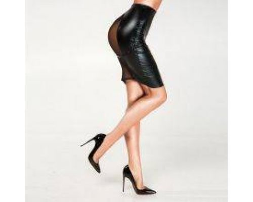 Эротическая юбка с сеткой, XS/S