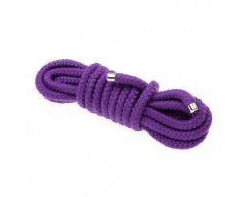 Веревка для бондажа BONDAGE ROPE 5M, Purple