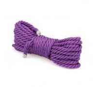 Веревка для бондажа Premium Silky 10M Purple
