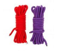 Набор веревкок для бондажа Submission 5М Purple&Red