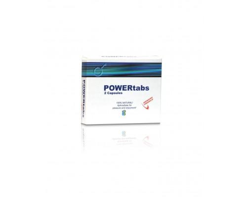 Таблетки для усиления эрекции PowerTabs 2шт