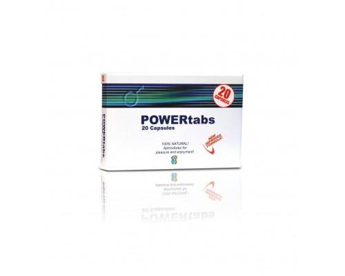 Таблетки для усиления эрекции PowerTabs 20шт