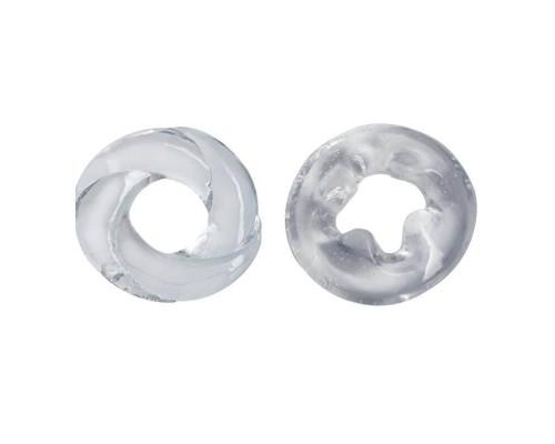 Эрекционные кольца Adam Male Toys™ Cock N Load Cock Rings, Clear