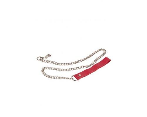 sLash - Поводок Leather Leash, RED (280179)