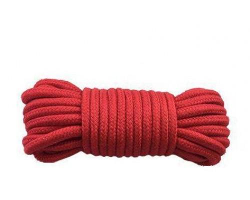 sLash - Веревка для бондажа BONDAGE ROPE RED (280266)