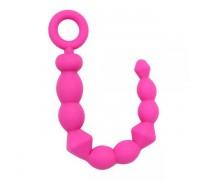 Chisa - Анальная цепочка BENDY BEADS-pink (291343)