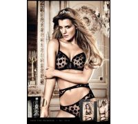BACI - Бюстгалтер Black Dotted Underwire Bra, 36D (B1015-BLACK-36D)