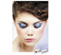 Baci Eyelashes - Реснички Blue-Black Deluxe Eyelashes (B526)