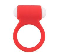 Dream Toys - Эрекционное кольцо LIT-UP SILICONE STIMU RING 3, RED (DT21159)
