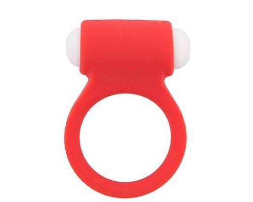 Dream Toys - Эрекционное кольцо LIT-UP SILICONE STIMU RING 3, RED (DT21159)