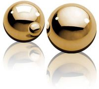 Pipedream - Шарики FF GOLD - BEN WA BALLS (DT44504)