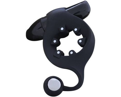 Seven Creations - Эрекционное кольцо MOJO - MAGNETO VIBRATING COCKRING (DT50950)