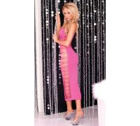 Pink Lipstick Lingerie - Платье Big Spender seamless long dress Pink (PL7225012P)