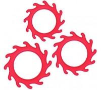 NS Novelties - Набор эрекционных колец RENEGADE GEARS, RED (T280318)