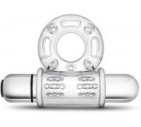 Blush - STAY HARD VIBRATING MEGA BULL RING CLEAR (T330579)