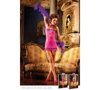 BACI - Пеньюар Pink Lace Tube Dress (B298-PINK PURPLE-OS)