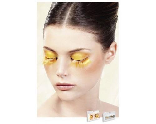 Baci Eyelashes - Реснички Orange Glitter Eyelashes (B537)