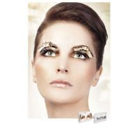 Baci Eyelashes - Реснички Beige-Brown Feather Eyelashes (B646)