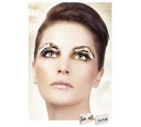 Baci Eyelashes - Реснички Beige-Brown Feather Eyelashes (B646)