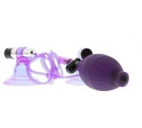 Seven Creations - Стимуляторы на соски Hi-Beam Vibrating Nipple Pumps Lavender (DT50124)