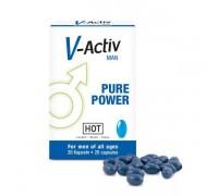 HOT - Капсулы стимулирующие для мужчин V-ACTIV, 20 шт (H44530)