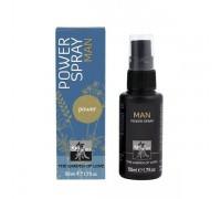 HOT - Спрей стимулирующий для мужчин SHIATSU Power Spray, 50 мл (H66082)