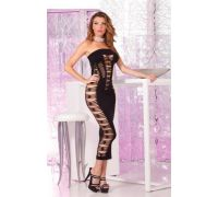 Pink Lipstick Lingerie - Платье Big Spender seamless long dress Black (PL7225012B)