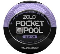 Zolo - Мастурбатор ZOLO POCKET POOL RACK EM (T670014)