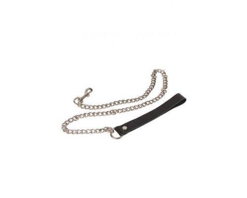 sLash - Поводок Leather Leash, BLACK (280178)