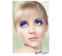 Baci Eyelashes - Реснички Blue Feather Eyelashes (B619)