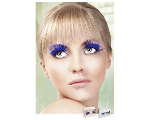 Baci Eyelashes - Реснички Blue Feather Eyelashes (B619)