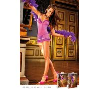 BACI - Пеньюар Purple-Blue Ruffled Dress (B306-PURPLE BLUE-OS)