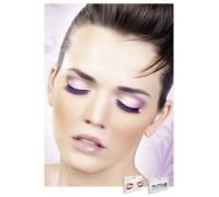 Baci Eyelashes - Реснички Black-Purple Deluxe Eyelashes (B530)