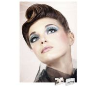 Baci Eyelashes - Реснички Black Deluxe Eyelashes (B597)