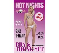 Erolin - Комплект Hot Nights White, S (ERL200012_white S)