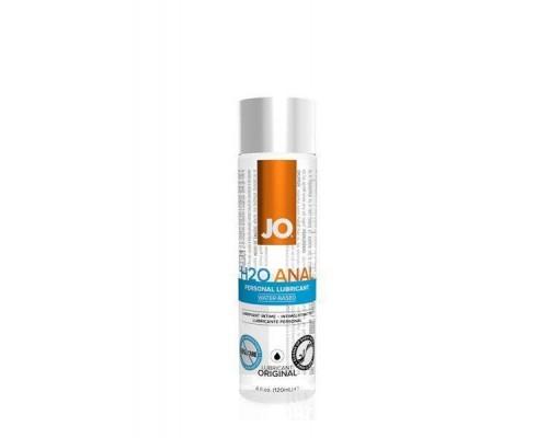 System Jo - Анальный лубрикант на водной основе JO Anal H2O, 120 мл (T250601)