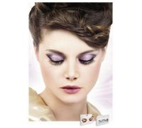 Baci Eyelashes - Реснички Black-Yellow Deluxe Eyelashes (B512)