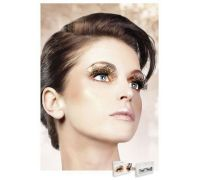 Baci Eyelashes - Реснички Brown Feather Eyelashes (B613)