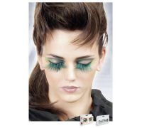 Baci Eyelashes - Реснички Blue Feather Eyelashes (B615)