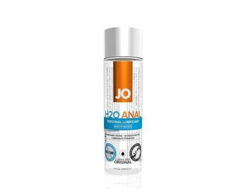 System Jo - Анальный лубрикант на водной основе JO Anal H2O, 240 мл (T250602)